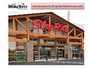 Shoprite warehouse jobs
