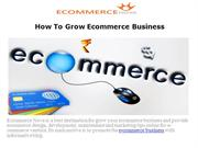 Ecommerce Nova - Online E-commerce Marketing Strategies