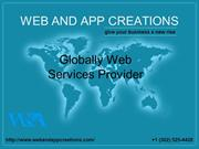 Web And App Creations - Mobile App, Web Design & SEO Marketing Company