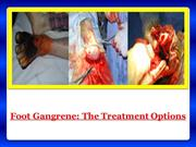 Foot Gangrene Treatment by Reversegangrene.com