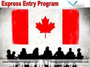 Canada Express Entry Program 2015