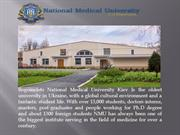 The O. Bogomolets National Medical University University in Ukraine