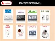 Precision Electricals Switches Manufacturers India