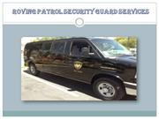 Roving Patrol Security Guard Services