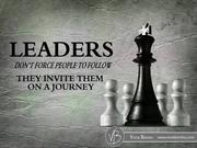 Five Strategies for Become a Successful Leader