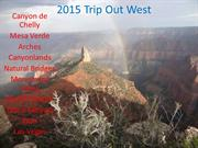2015 WEST U.S. and Four Corners