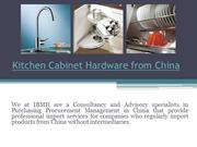 Cabinet Hardware from China