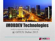 iMOBDEV shows innovative services @ GITEX Dubai 2015