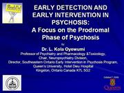 Dr.  Oyewumi's  Lecture  on  Early  Detection