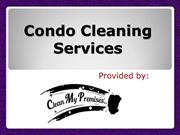 Condo Cleaning