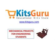 Mechanical projects for engineering students