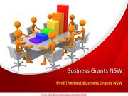 Find The Best Business Grants NSW