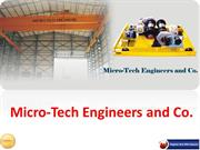 EOT Cranes Manufacturers - MicroTech Engineers and Company In Pune