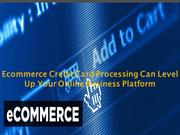 Ecommerce Credit Card Processing Can Level Up Your Online Business Pla