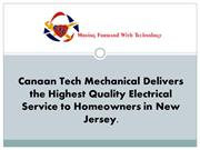 Canaan Tech Mechanical Delivers the Highest Quality Electrical Service