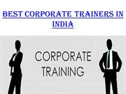 Attributes of a Great Corporate Trainer