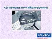 Car Insurance from Reliance General