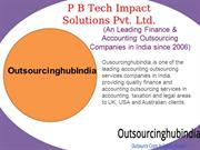 Finance and Accounting Outsourcing Services India