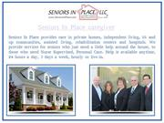 Personal Home Care For Seniors