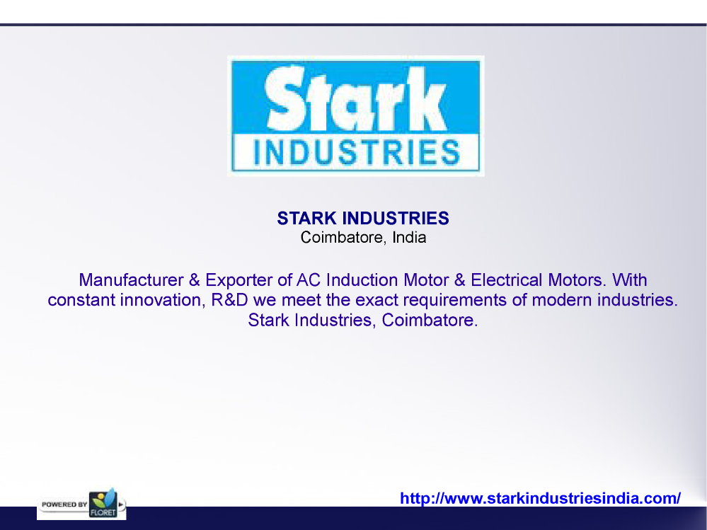 AC Induction Motor Manufacturer, Electrical Motors Exporter ...