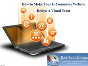 How to Make Your E-Commerce Website Design A Visual Treat