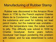 Merchem MD - Manufacturing of Rubber Stamp