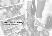 What's in your fridge? - survey results