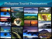 Philippine Tourist Destinations