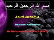 Acute Ischemia for cardiologists