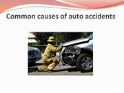 Common causes of auto accidents