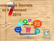 7 eCommerce Secrets that No One Can Implement