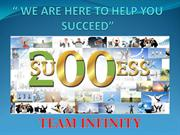 SUCCESS PRESENTATION TEAM INFINITY