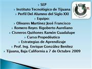 Perfil del alumno del siglo xxi