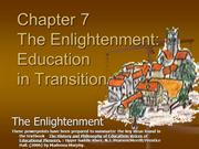 07 Education during the Enlightenment