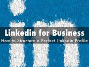 Linkedin for Business: How to Structure a Perfect Linkedin Profile