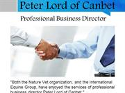 Peter Lord of Canbet - Professional Business Director
