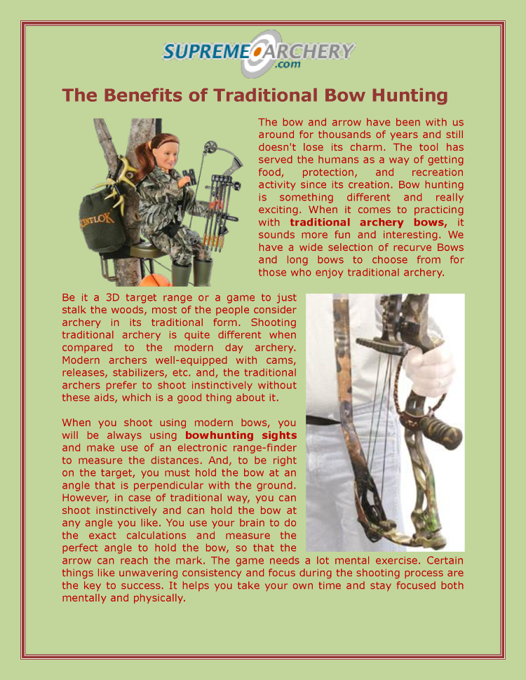 The Economic Importance of Hunting