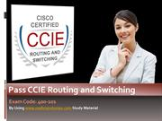 Cisco CCIE Routing and Switching 400-101 Certification Exam
