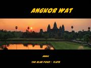 1-Travel-Angkor Wat at sunset