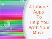 4 Iphone apps to help you with your move