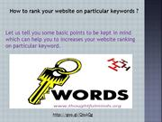 Keyword friendly article writing services in India
