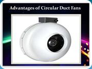 Advantages of Circular Duct Fans