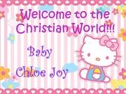 Welcome to Christian World!!!
