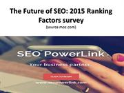 Search Engine Ranking Factors Survey