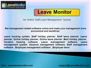 Best holiday planner,Vacation tracking software, Leave tracking system