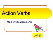 Verbs and Action Verbs