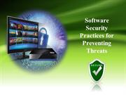 Software Security Practices for Preventing Threats