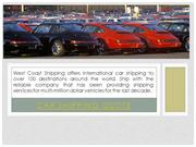 car Shipping Rates
