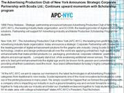 The Advertising Production Club of New York