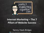 7 Pillars of Website Success